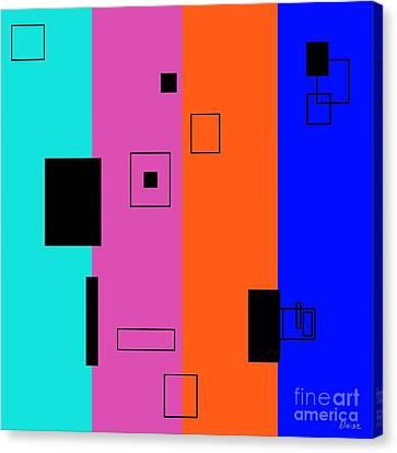 Simple Color 2 Canvas Print by Eloise Schneider