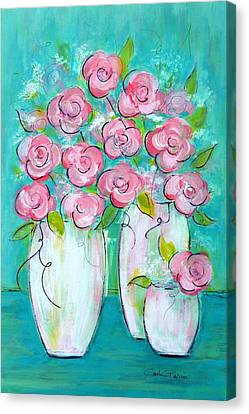 Simple Elegance Canvas Print by Carla Parris