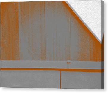 Simple Geometry - 3 Canvas Print by Lenore Senior