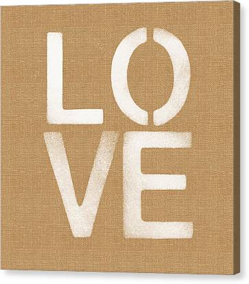 Simple Love Canvas Print