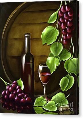 Simple Pleasures Canvas Print by Susan Murphy