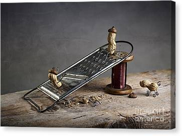 Odd Canvas Print - Simple Things - Sliding Down by Nailia Schwarz