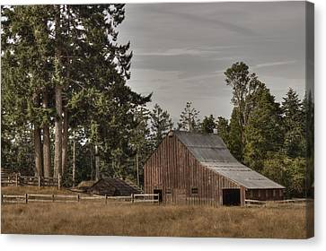 Simpler Times 2 Canvas Print by Randy Hall