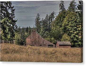 Simpler Times Canvas Print by Randy Hall