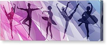 Ballet Canvas Print - Simply Dancing 1 by Angelina Vick