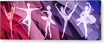 Ballet Canvas Print - Simply Dancing 2 by Angelina Vick