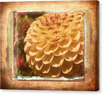 Simply Moments - Flower Art Canvas Print
