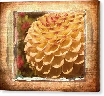 Simply Moments - Flower Art Canvas Print by Jordan Blackstone