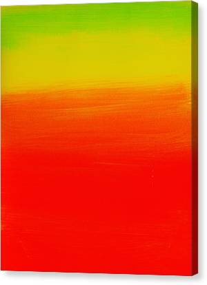 Simply Rasta Canvas Print by Jean Cormier