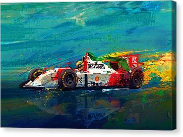 Simply The Best Canvas Print by Alan Greene