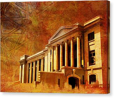 Sindh High Court Canvas Print by Catf