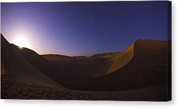 Sine Curve Canvas Print by Aaron Bedell