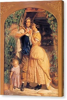 Sinews Old England Canvas Print by George Elgar Hicks