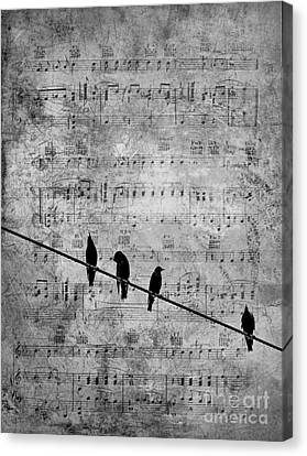 Sing A Song Of Sixpence Canvas Print