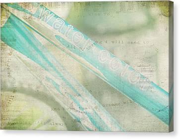Sing As You Pedal Canvas Print by Toni Hopper