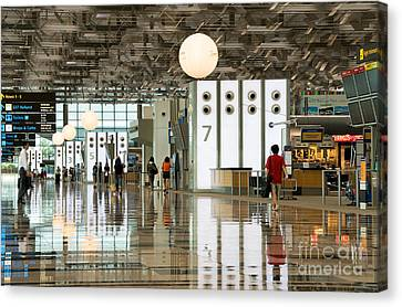 Singapore Changi Airport 02 Canvas Print
