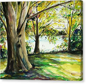 Millbury Canvas Print - Singeltary Shade by Scott Nelson