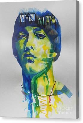 Rapper  Eminem Canvas Print