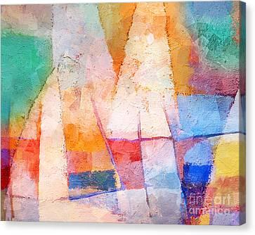 Singing Colors Canvas Print by Lutz Baar