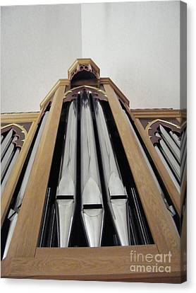 Singing Pipes Canvas Print