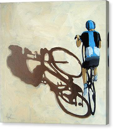 Single Focus Bicycle Art Canvas Print