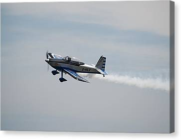 Canvas Print featuring the photograph Single Rv8tor Sunderland Air Show 2014 by Scott Lyons