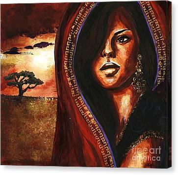 Singular Canvas Print by Alga Washington