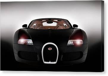 Sinister Bugatti Canvas Print by Peter Chilelli