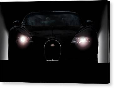 Sinister Veyron Canvas Print by Peter Chilelli