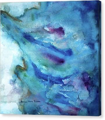 Sinking Canvas Print by Anna Ruzsan