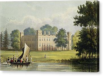 Sion House, From R. Ackermanns Canvas Print by John Gendall