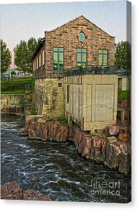 Sioux Falls - 05 Canvas Print by Gregory Dyer