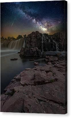 Sioux Falls Dreamscape Canvas Print by Aaron J Groen