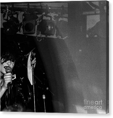 Canvas Print featuring the photograph Siouxsie by Steven Macanka