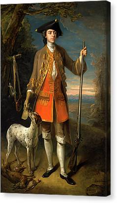 Sir Edward Hales, Baronet, Of Hales Place Canvas Print by Litz Collection