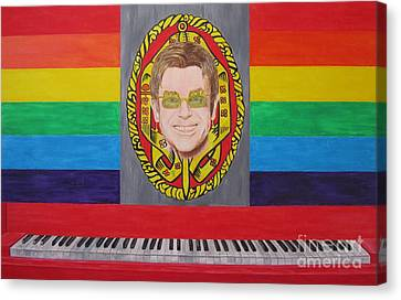 Sir Elton John Canvas Print
