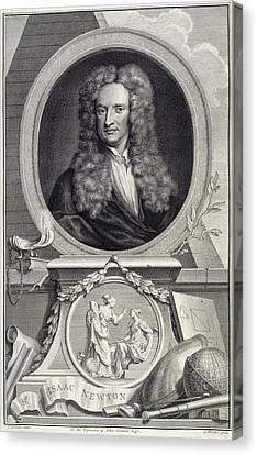Sir Isaac Newton Canvas Print
