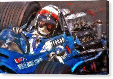 Sir Jackie Canvas Print by Alan Greene