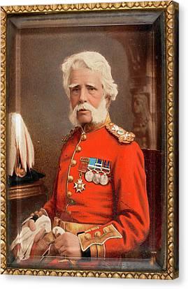 Sir James Abbott Canvas Print
