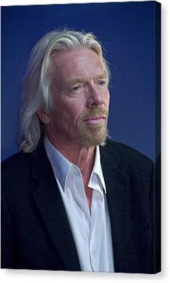 Sir Richard Branson Canvas Print