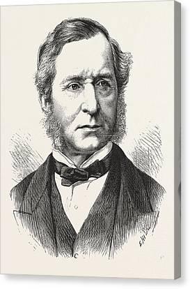 Sir Thomas Henry, Chief Metropolitan Magistrate, Engraving Canvas Print by English School