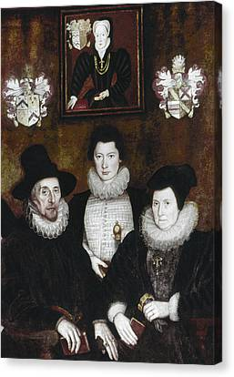 Sir Thomas More Family Canvas Print by Granger