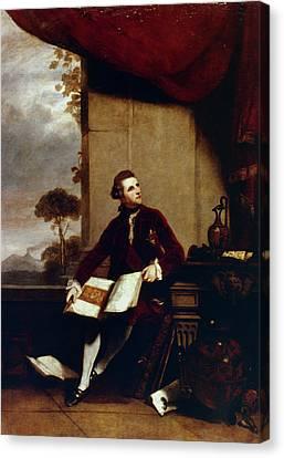 Sir William Hamilton (1730-1803) Canvas Print by Granger