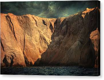 Siren Rocks Canvas Print by Taylan Apukovska