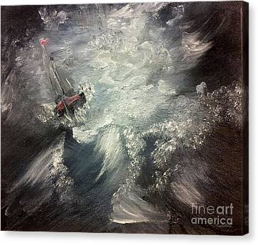 Sirens Call Canvas Print by Isabella F Abbie Shores FRSA