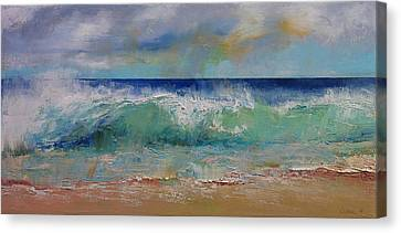 Crashing Canvas Print - Sirens by Michael Creese
