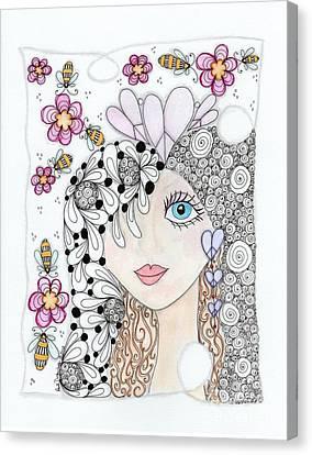 Sissy Canvas Print by Paula Dickerhoff