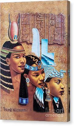 Sister-goddess Canvas Print