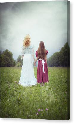 Sisters Canvas Print by Joana Kruse
