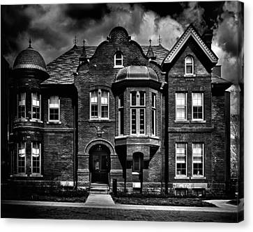 Sisters Of St. Joseph Heritage Building Toronto Canada Canvas Print by Brian Carson
